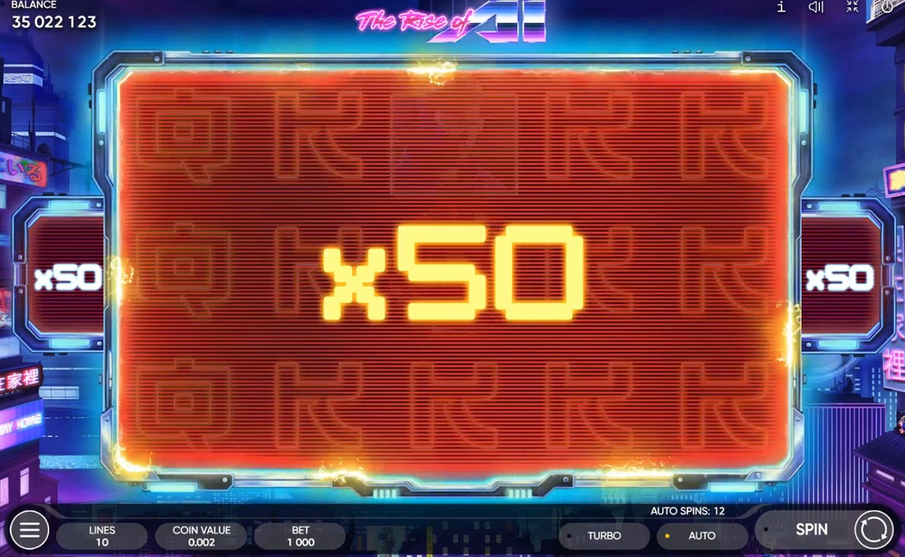 Игровой автомат The Rise of AI