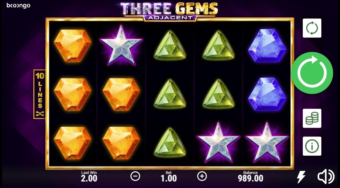 Three Gems Adjacent онлайн слот