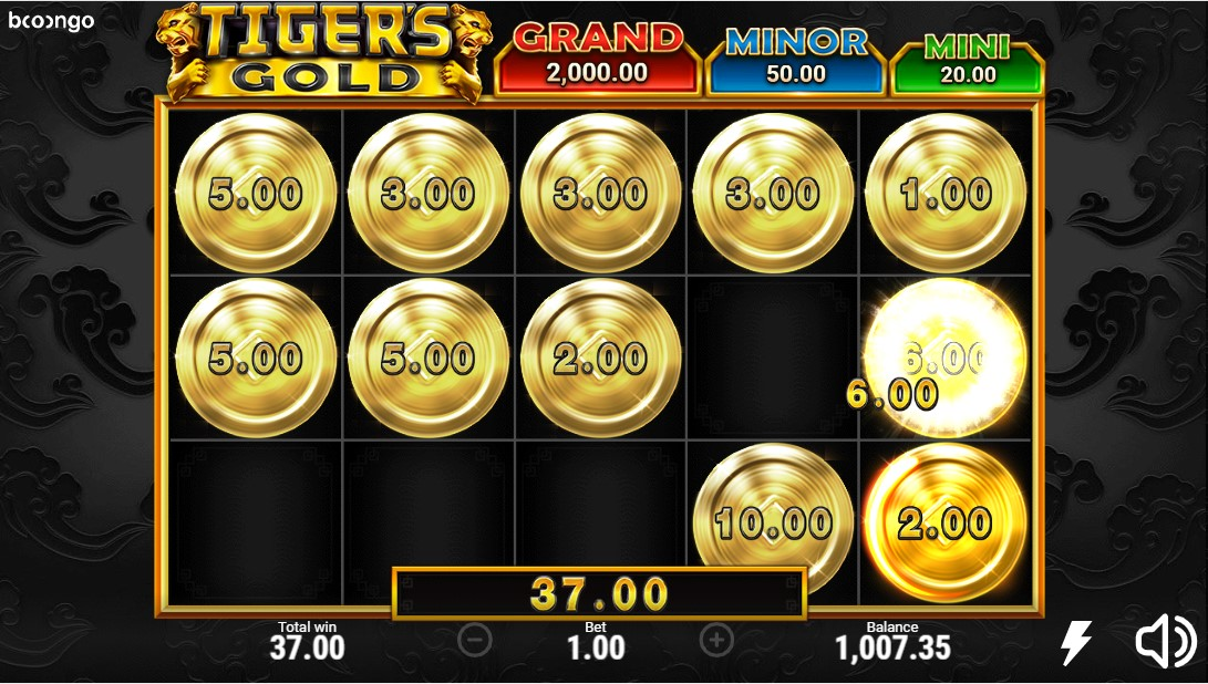 Tigers Gold free slot