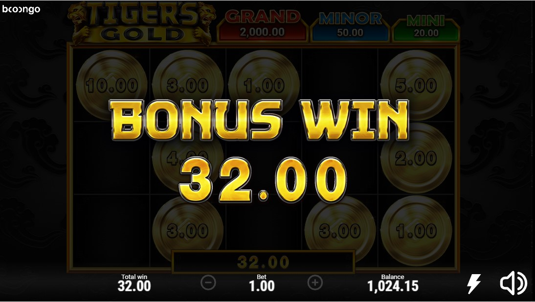 Tigers Gold онлайн слот