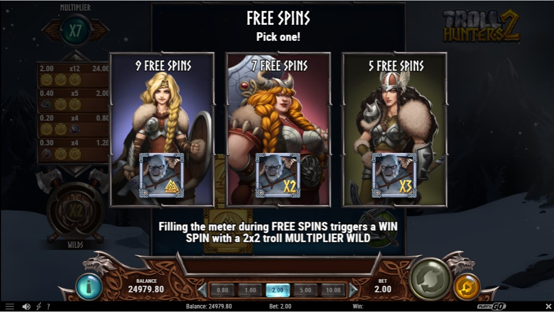 Troll Hunters 2 онлайн слот