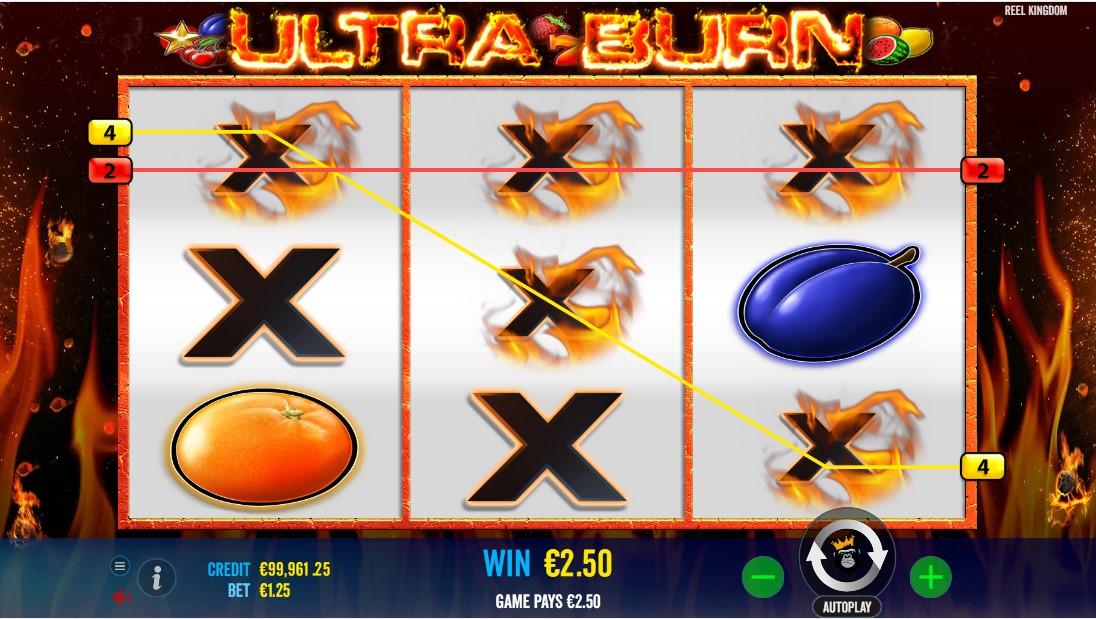 Ultra Burn игровой автомат