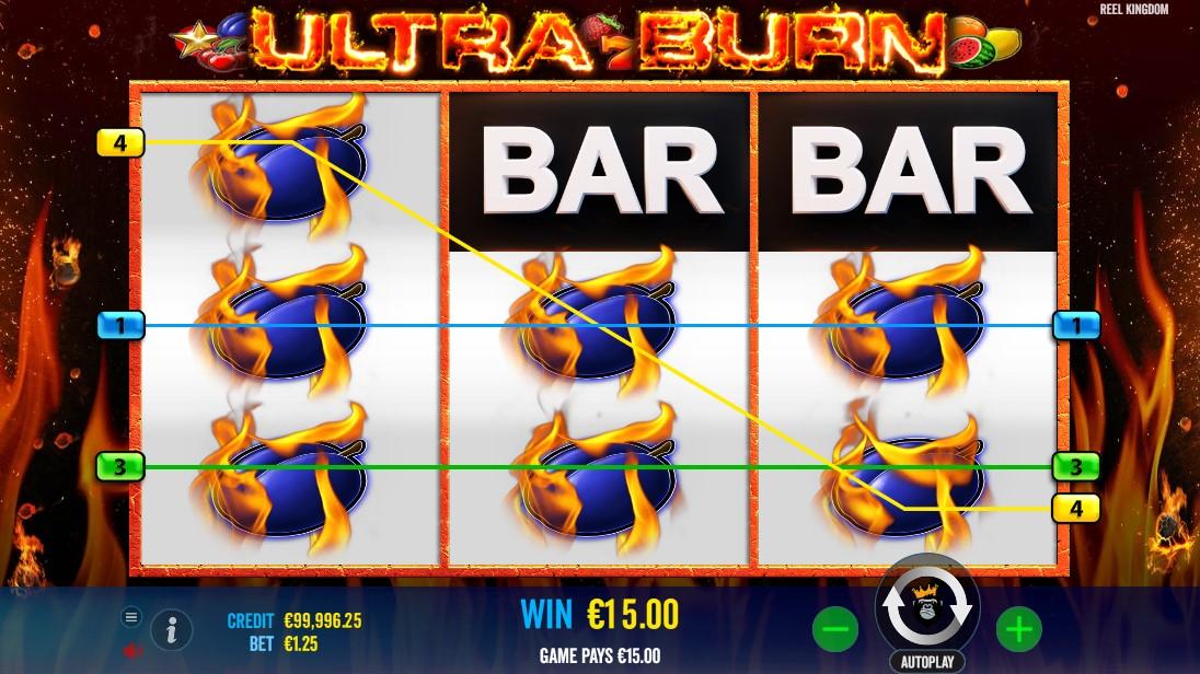 Free slot Ultra Burn