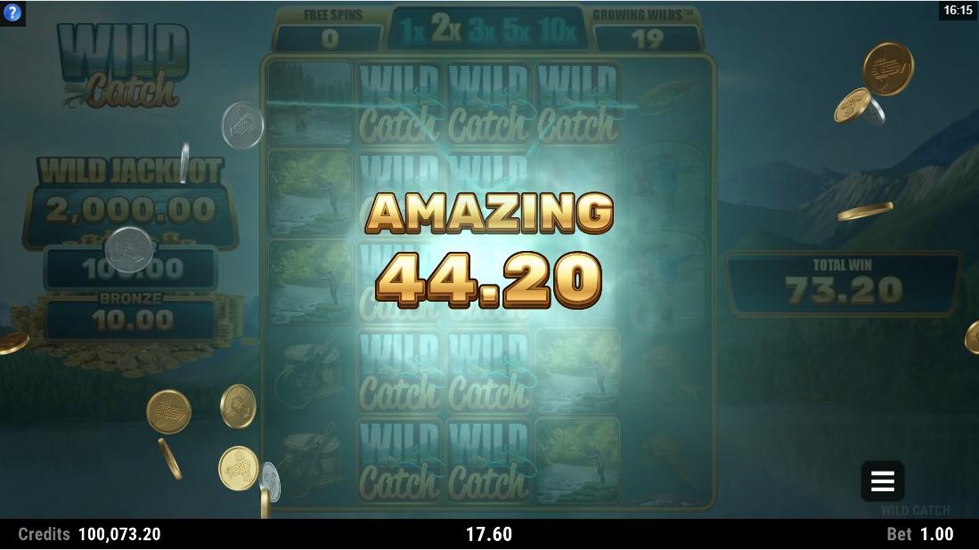 Wild Catch игровой автомат