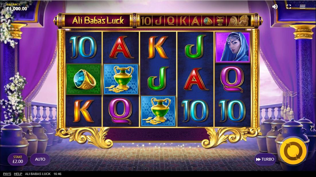 Ali Baba's Luck free slot