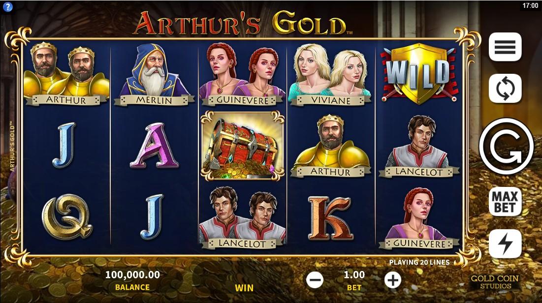 Arthur`s Gold free slot