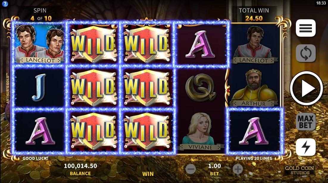 Arthur`s Gold онлайн слот