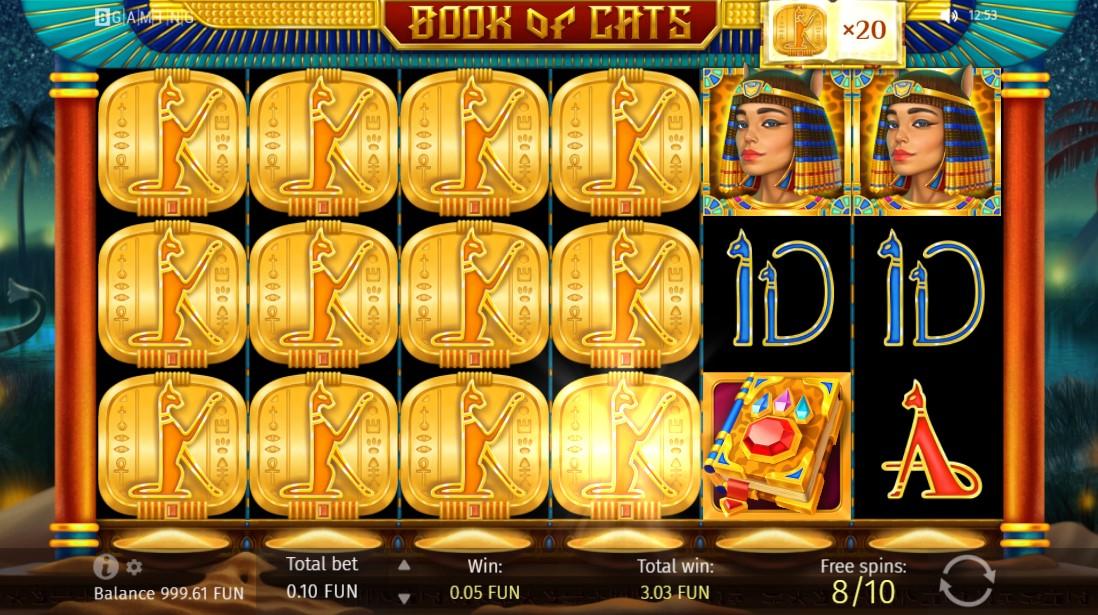 Book Of Cats игровой автомат