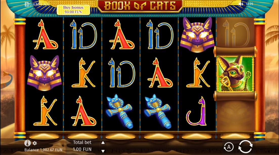 Book Of Cats бесплатный слот