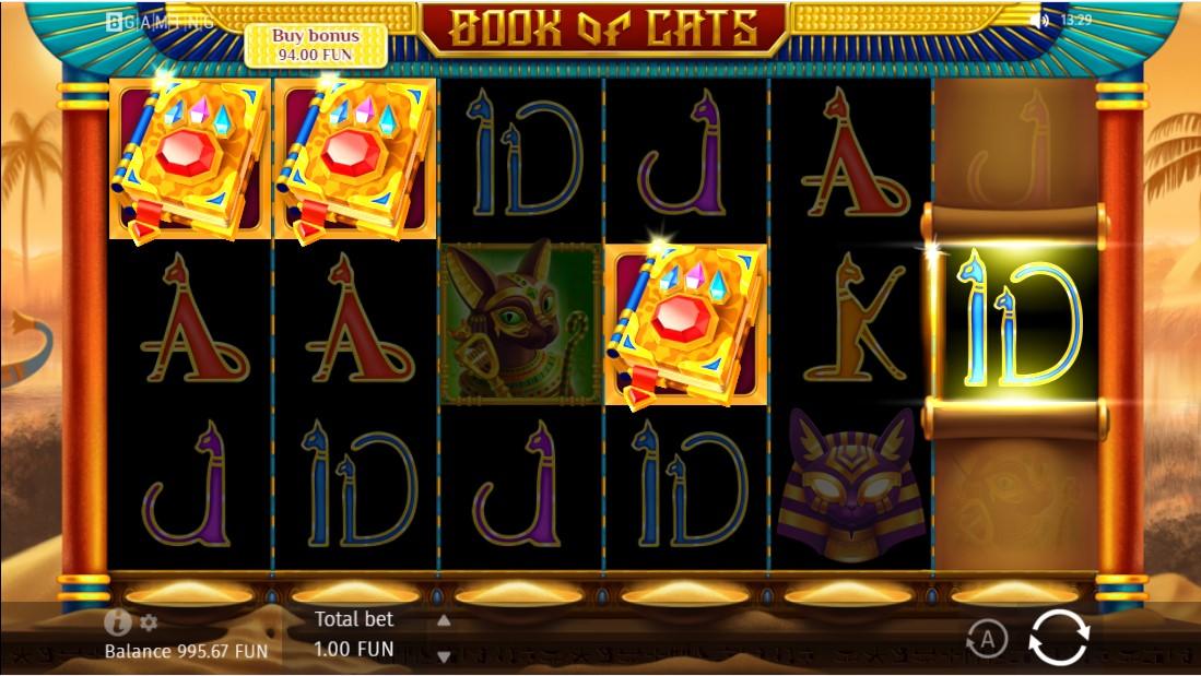 Слот Book Of Cats играть