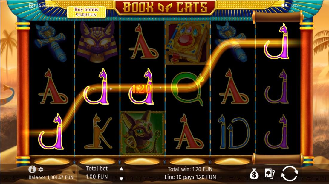 Book Of Cats онлайн слот