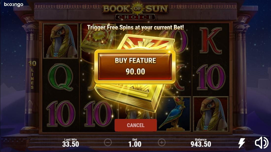 Book of Sun Choice игровой автомат
