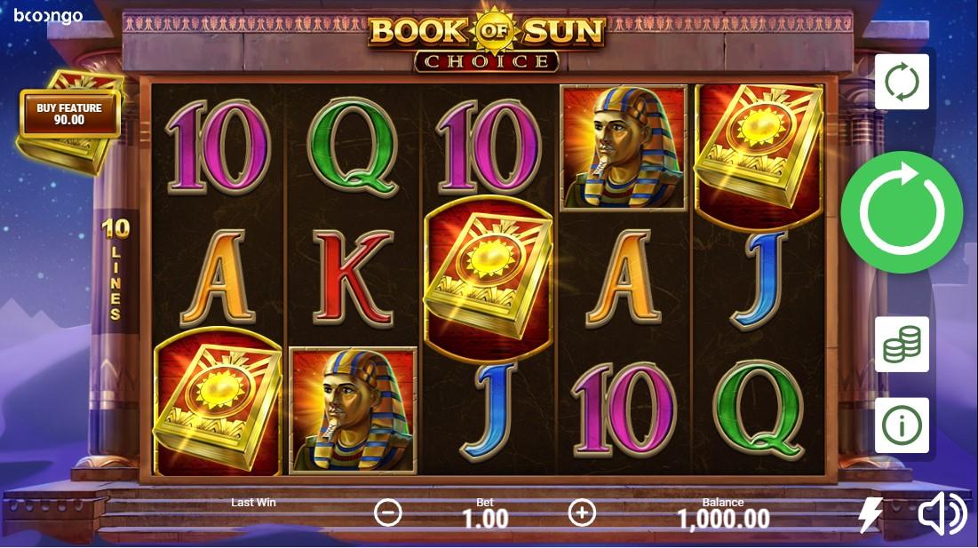 Book of Sun Choice free slot