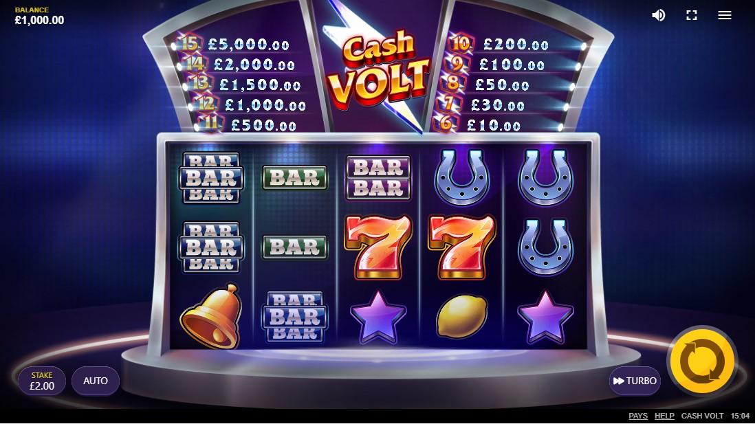 Cash Volt бесплатный слот