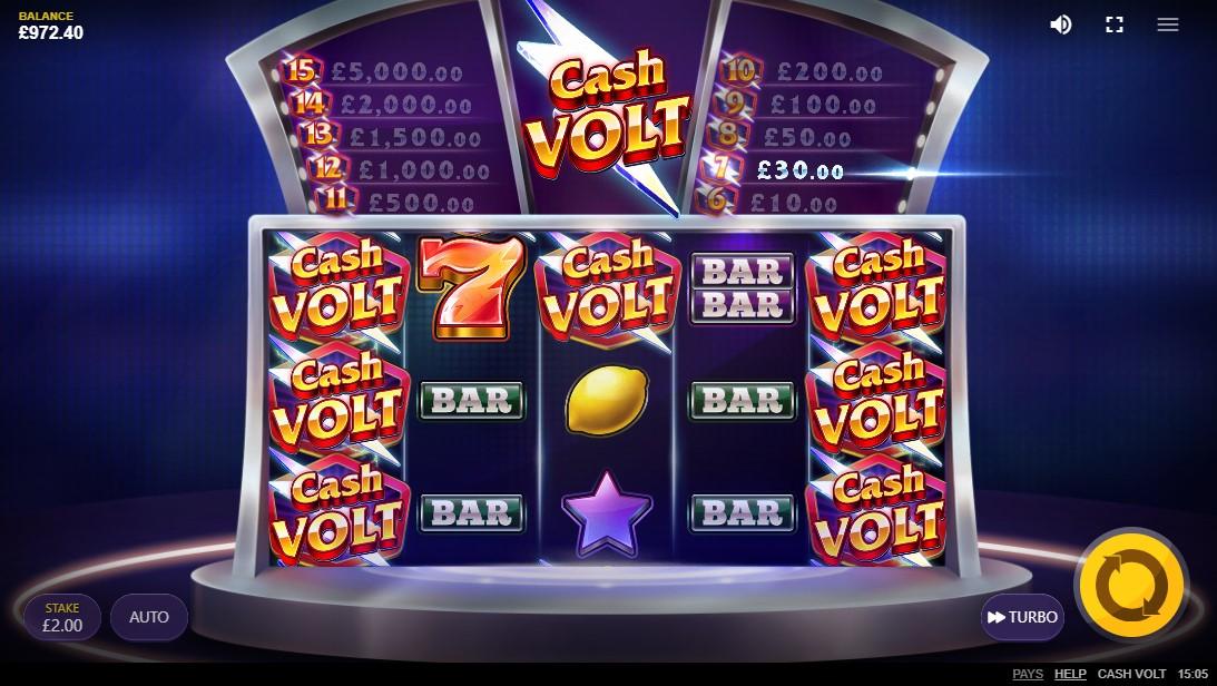 Cash Volt онлайн слот
