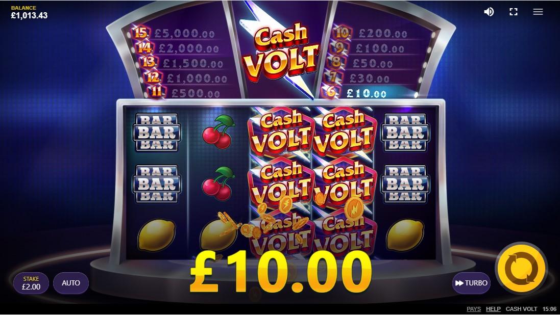 Cash Volt free slot