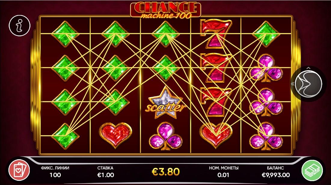 Chance Machine 100 бесплатный слот