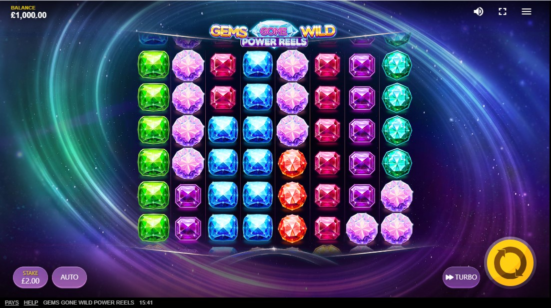 Gems Gone Wild Power Reels free slot