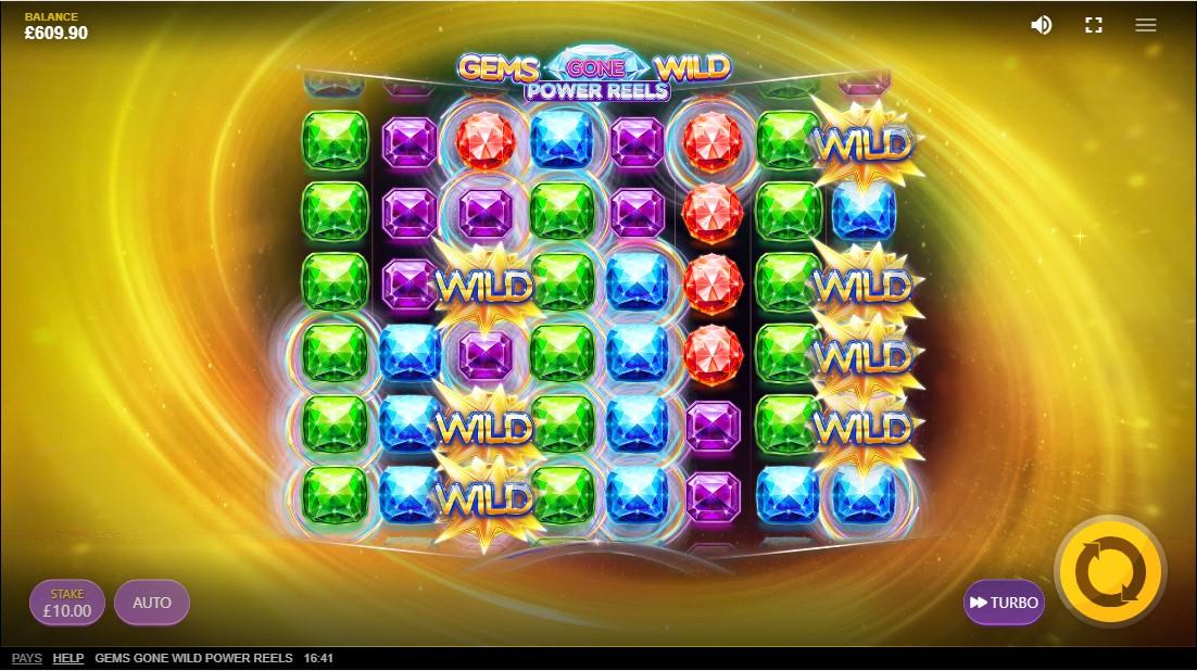 Gems Gone Wild Power Reels игровой автомат