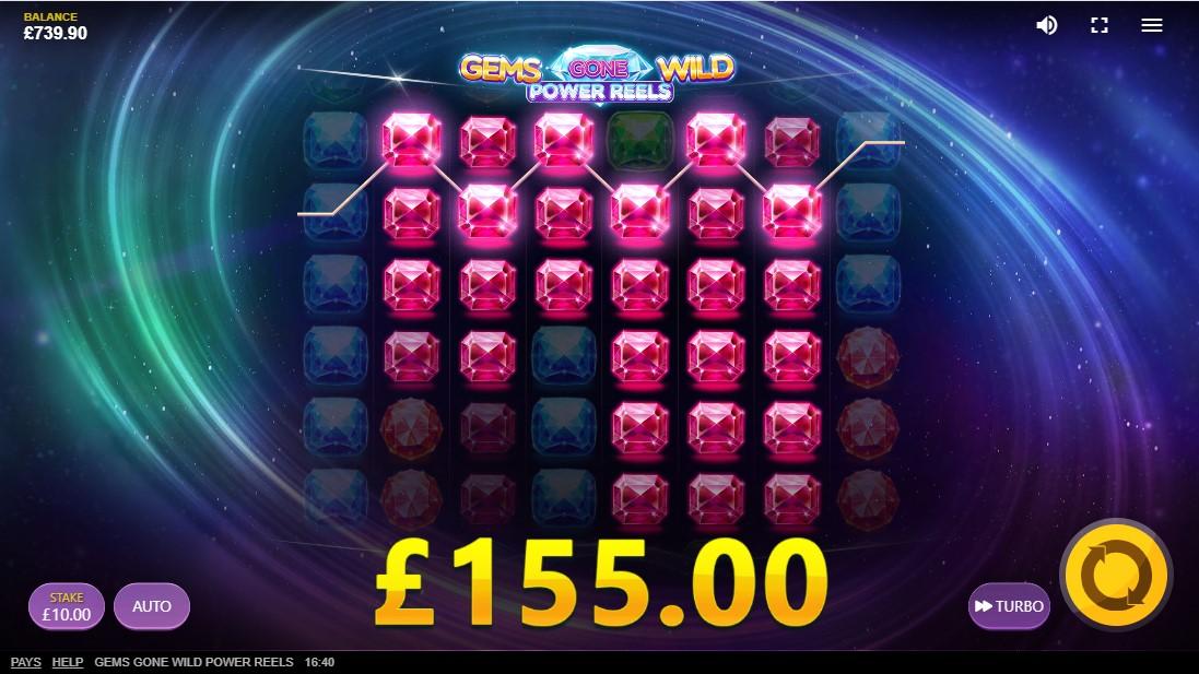 Gems Gone Wild Power Reels онлайн слот