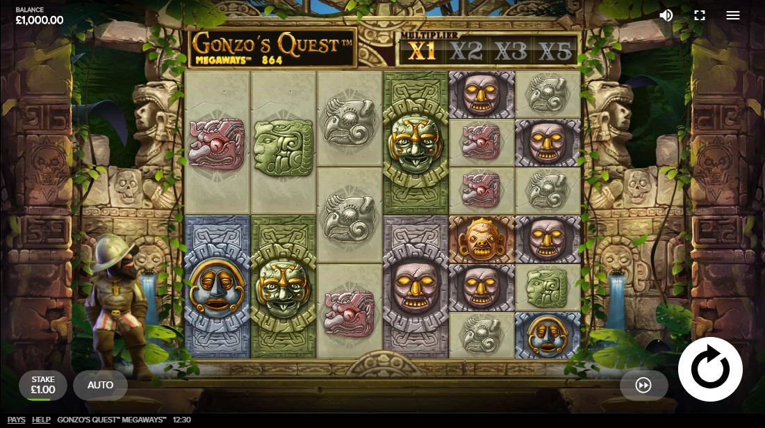 Gonzo's Quest Megaways free slot