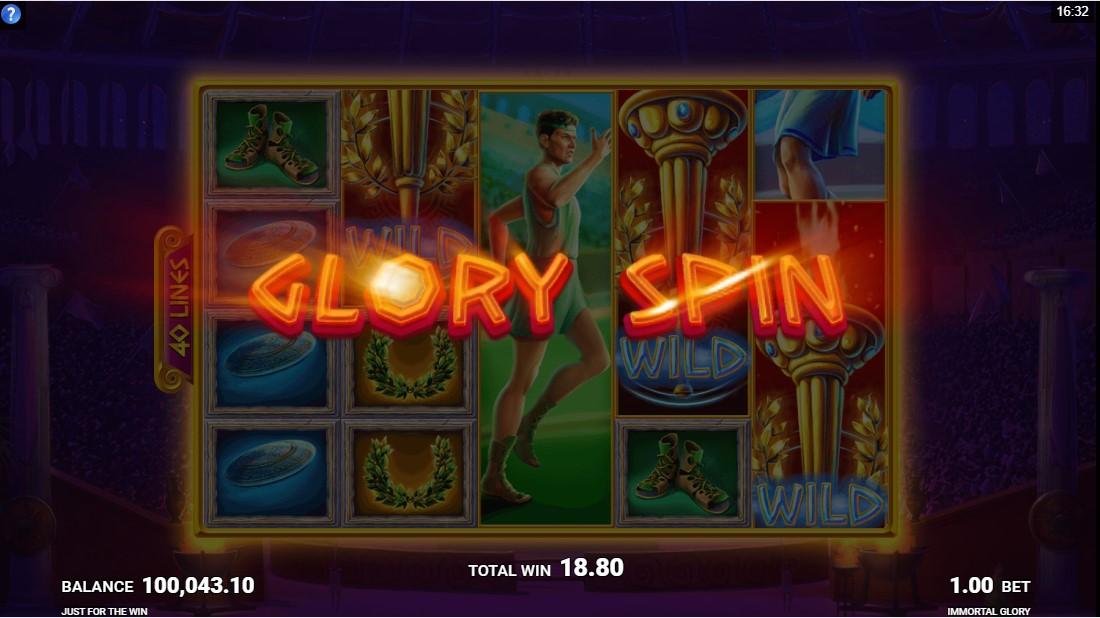 Immortal Glory бесплатный слот
