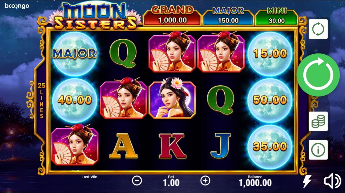 Moon Sisters free slot