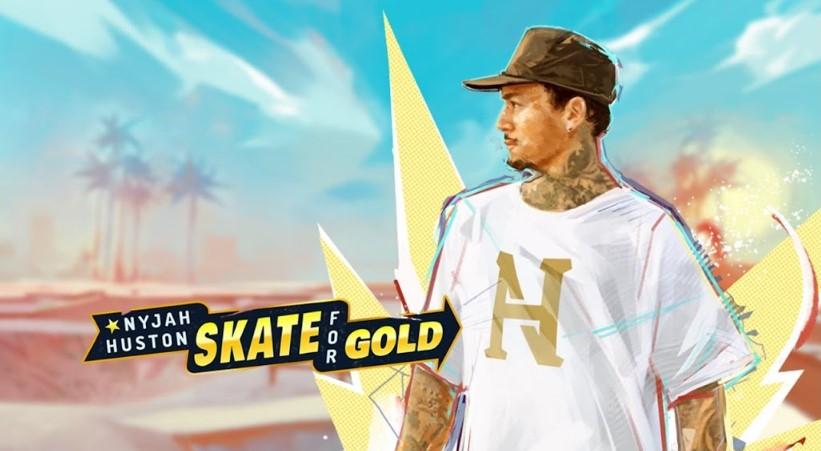 Играть Nyjah Huston - Skate for Gold бесплатно