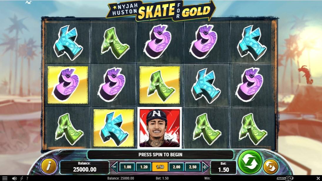 Nyjah Huston - Skate for Gold free slot
