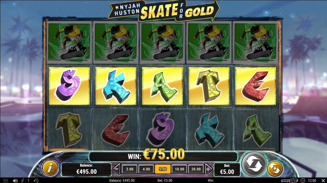 Игровой автомат Nyjah Huston - Skate for Gold