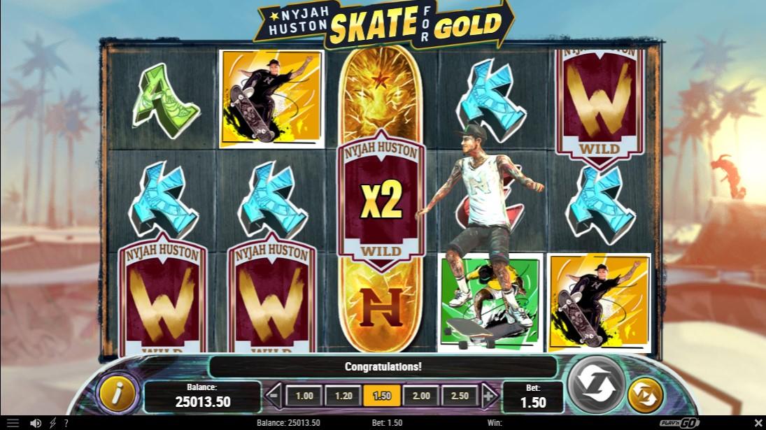 Nyjah Huston - Skate for Gold бесплатный слот