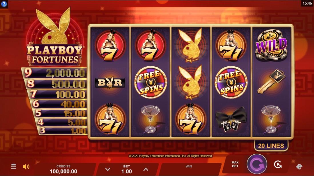 Playboy Fortunes free slot