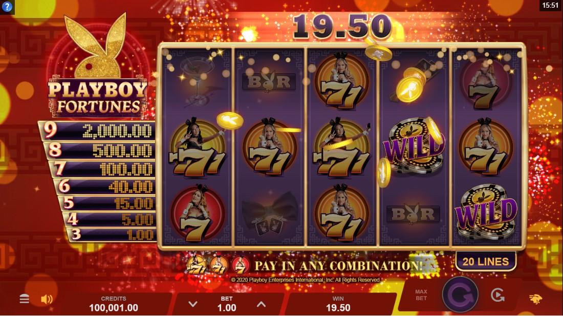 Playboy Fortunes онлайн слот