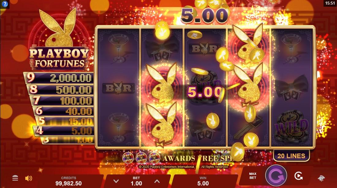 Бесплатный слот Playboy Fortunes