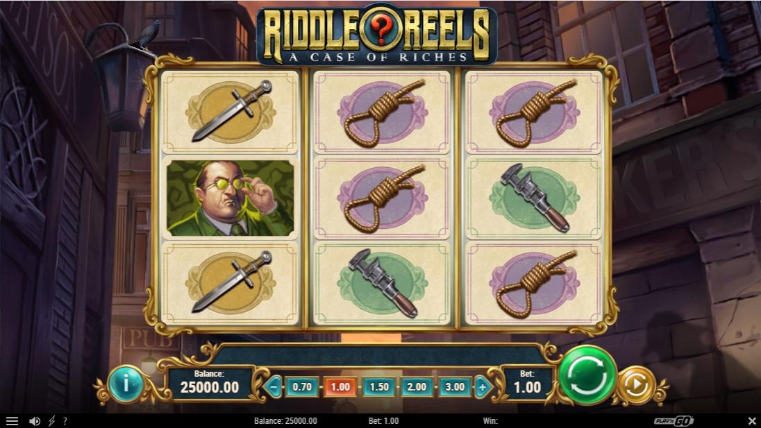 Riddle Reels A Case of Riches бесплатный слот
