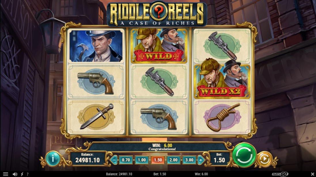Riddle Reels A Case of Riches free slot