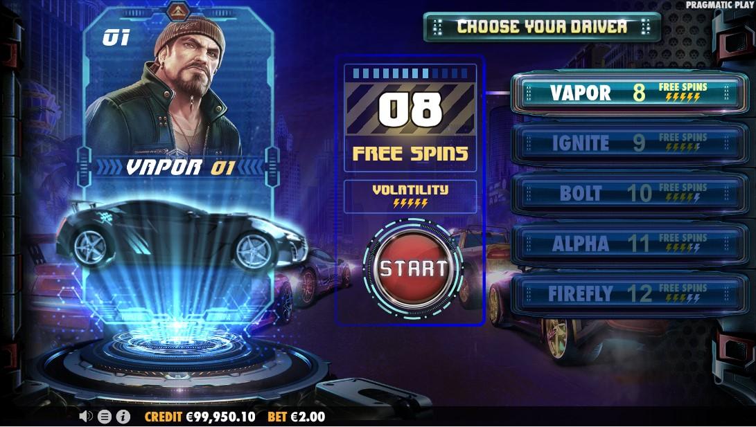 Street Racer игровой автомат