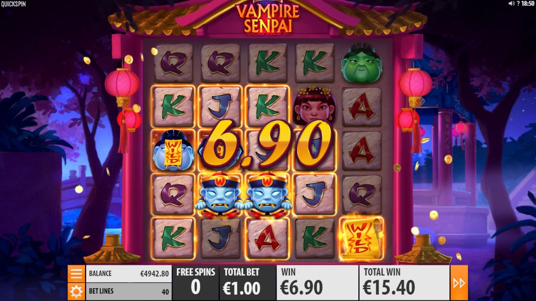 Vampire Senpai игровой автмоат