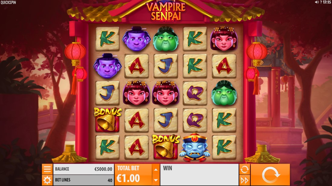 Vampire Senpai бесплатный слот