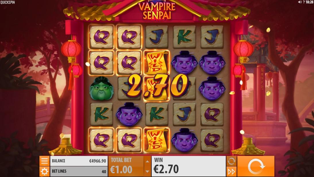 Слот Vampire Senpai играть