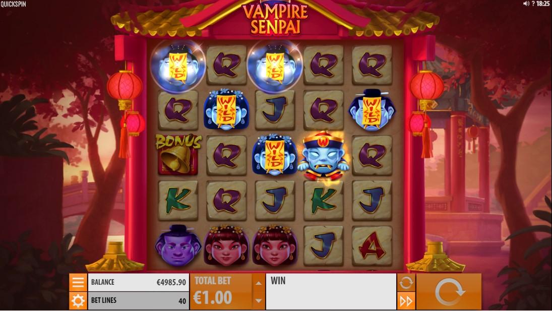 Vampire Senpai онлайн слот