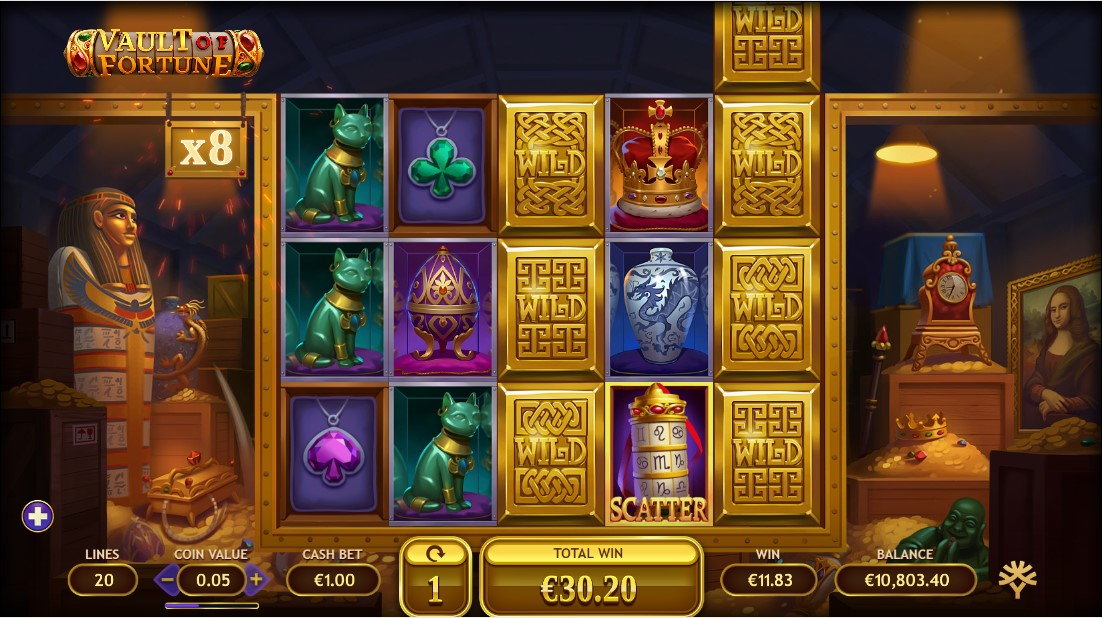Vault of Fortune игровой автомат