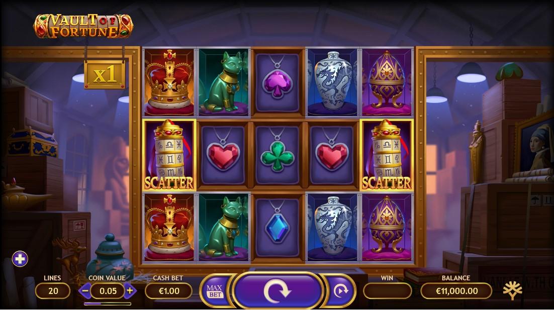 Vault of Fortune free slot