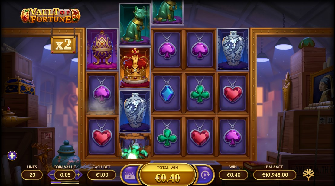 Играть Vault of Fortune бесплатно