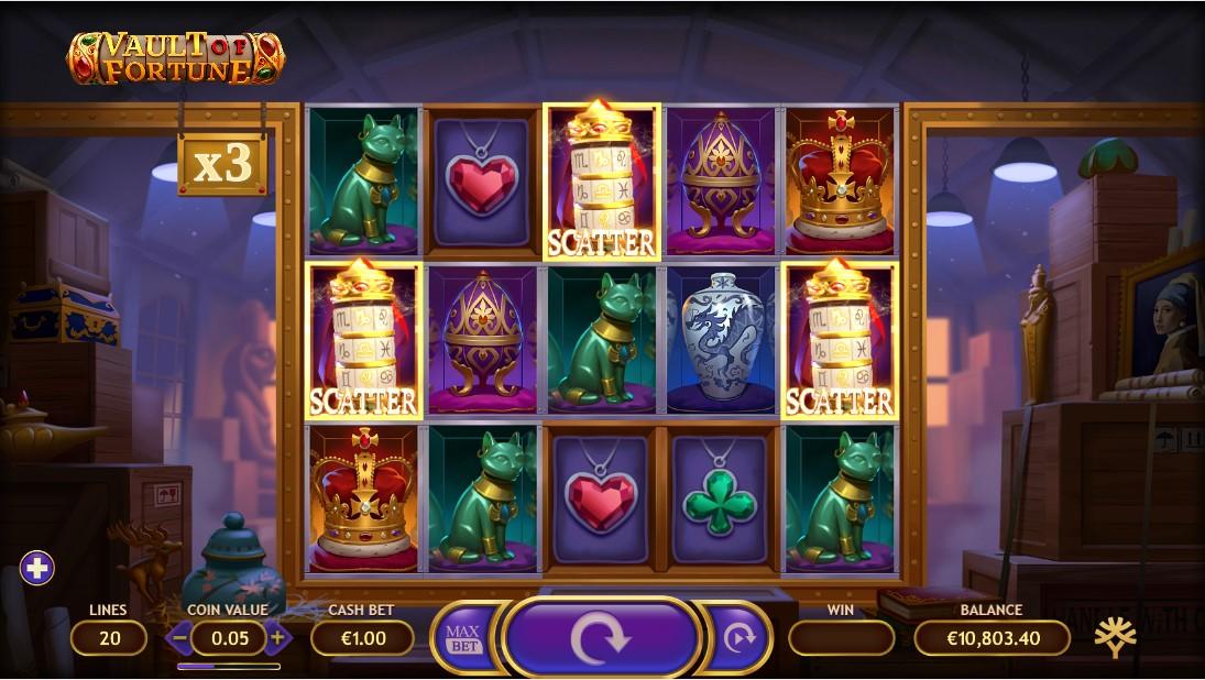 Слот Vault of Fortune играть онлайн