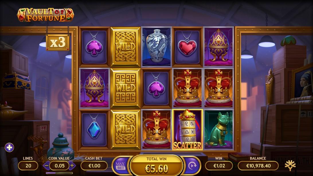 Vault of Fortune бесплатный слот