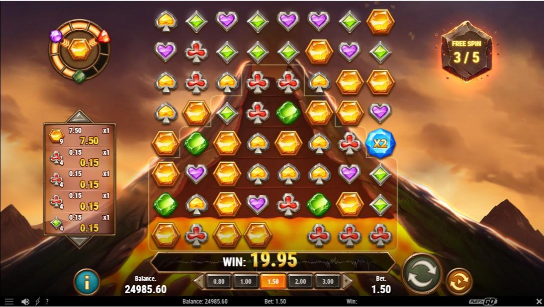 Gold Volcano игровой автомат