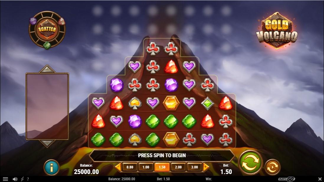 Слот Gold Volcano играть бесплатно