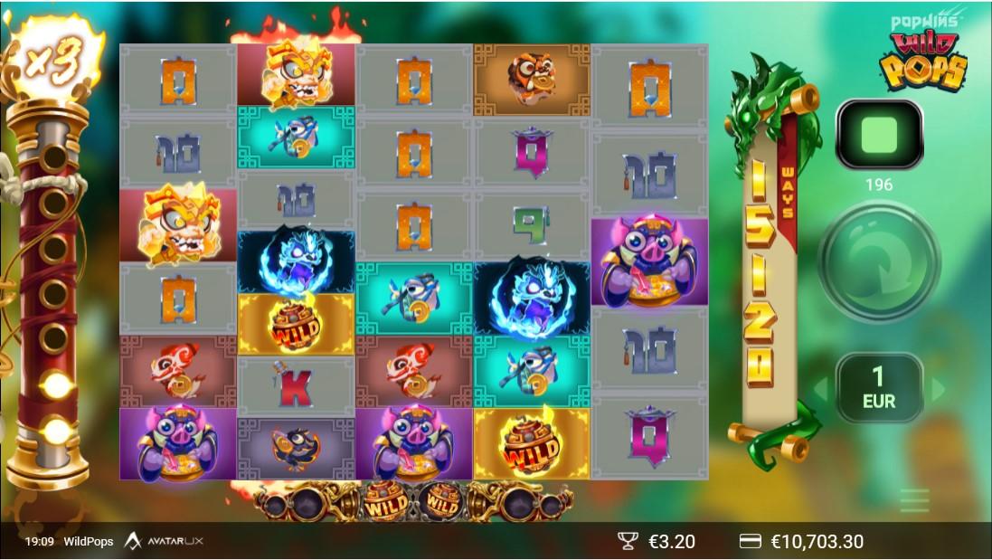 Wild Pops онлайн слот