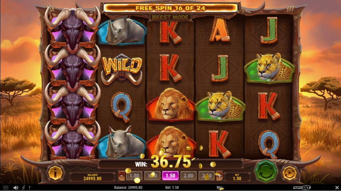 Win-A-Beest игровой автомат